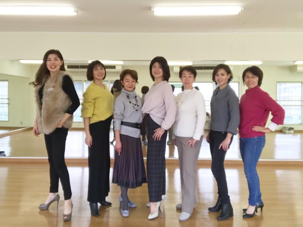 大阪梅田 スタイリングウォーキングコースレッスン 6DAYS 【受付中】