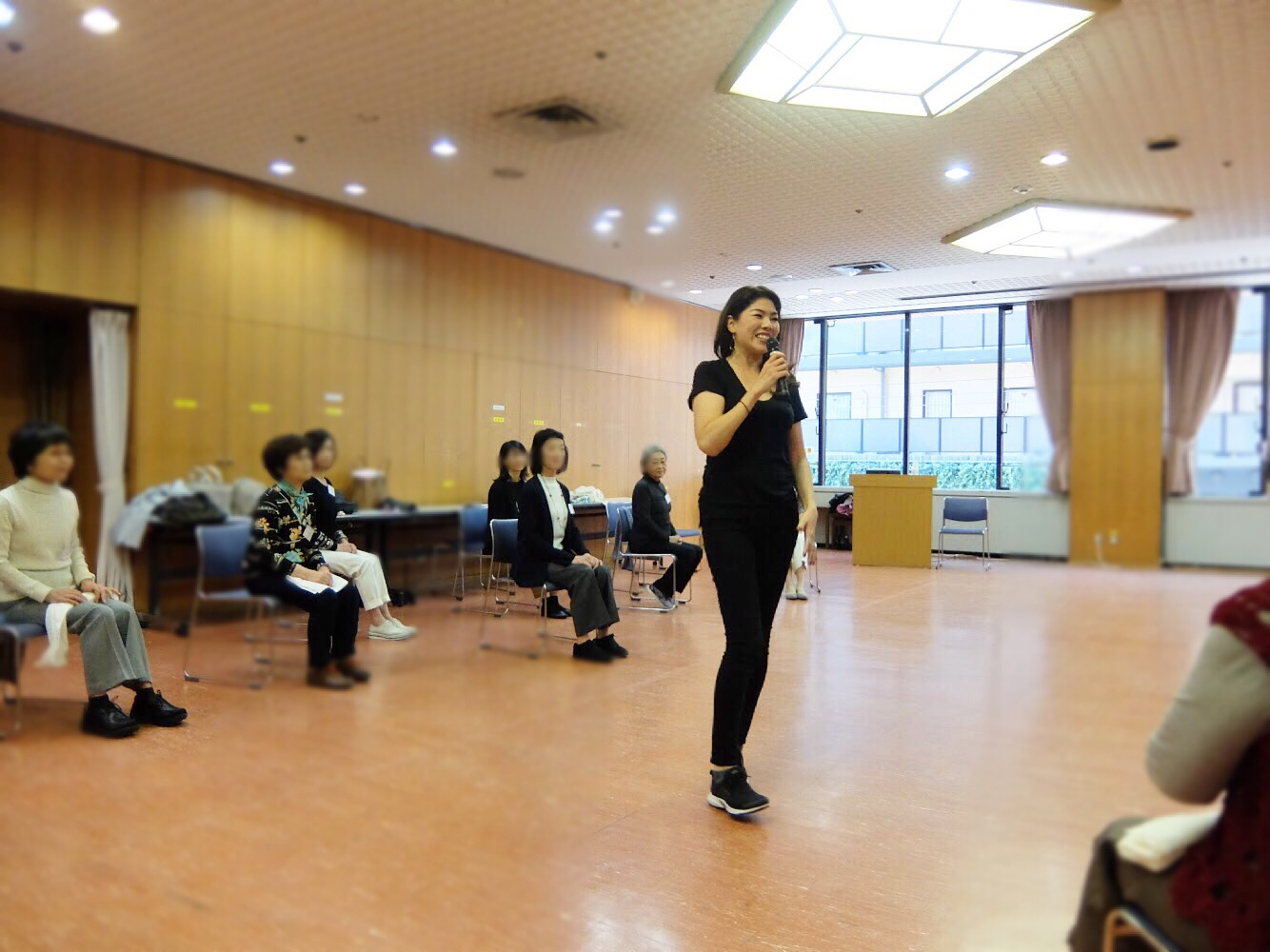 日本女子大学 桜楓会神戸支部の皆さまへのウォーキングイベント